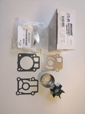 Impeller repair kit - Mercury 25-30 hk - 853792A07