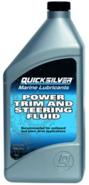 Quicksilverser powertrim og servostyringsolie, 946 ml, 858077K01
